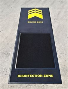 SANIZONE Disinfection/Drying Entrance Mat